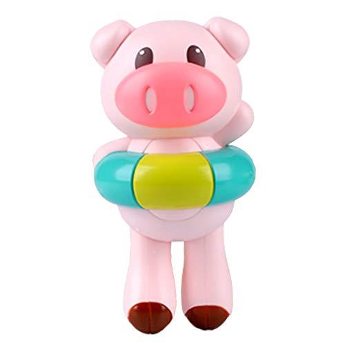 CHshe®--Badespielzeug, Baby-Dusche-Spielzeug, Schwein Spielzeug, Lernspielzeug, Pool-Spielzeug für Badespaß Zeit - Schwein-schnuller