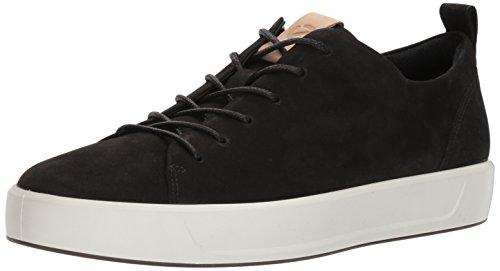 Ecco Soft 8, Sneaker Uomo Nero (Black/powder)