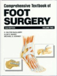 Comprehensive Textbook of Foot Surgery: Vols 1-2 por E.Dalton McGlamry