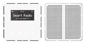 Preisvergleich Produktbild Jung Smart Radio - Set Mono Serie CD Alpinweiß, 1 Stück, RAD CD 518 WW