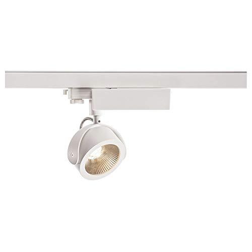 SLV KALU TRACK Indoor-Lampe Aluminium/Kunststoff PC Weiß Lampe innen, Innen-Lampe