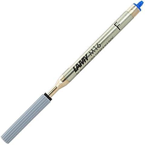 Lamy M16 F refill gigante per penna a sfera, blu