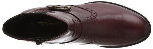Tamaris - 25002, Stivaletti Donna Rosso (BORDEAUX 549)
