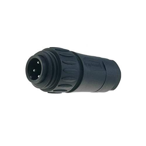 Male Threaded Plug (C01620H00310012 Connector circular plug male Series ECOMATE C016 PIN4)
