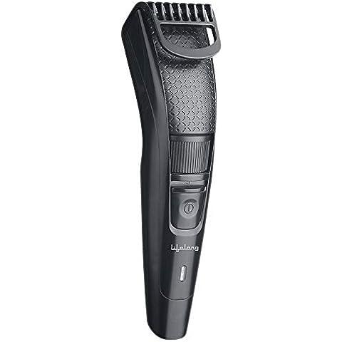 Lifelong LLPCM13 Cordless Beard Trimmer for men, Runtime: 45 minutes (Black)