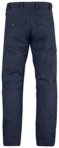 Fjällräven Barents Pro Jeans Regular - dark grey/dark grey blau