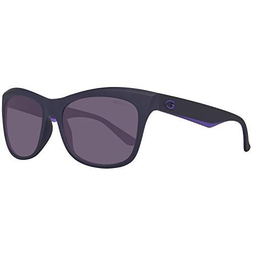 Guess Damen GU7464-5582B Sonnenbrille, Grau (Grey), 55
