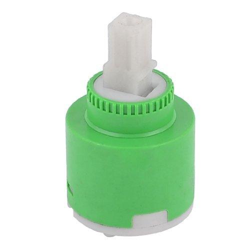 Accueil en plastique vert en céramique eau Robinet Cartouche Valve