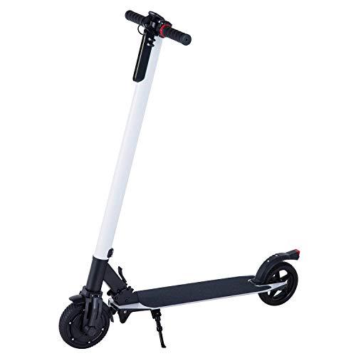 WINDEK Elektroscooter Elektroroller Electric Scooter E-Scooter 6,5 Zoll Geschwindigkeiten Bis zu 20KM/H Klappbar City-Roller für Erwachsene und Kinder (Weiß)