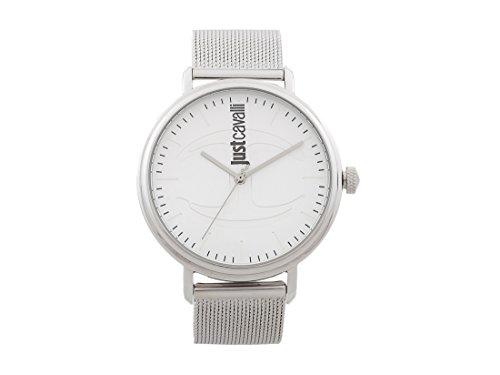 Just Cavalli Mens Analogue Quartz Watch with Stainless Steel Strap JC1G012M0055