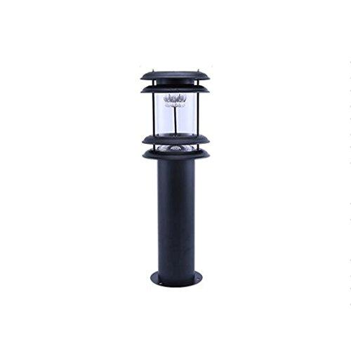 HJQ Luz Solar al Aire Libre estupenda Brillante llevada luz del césped luz de jardín Impermeable lámpara de pie luz de Calle casera, el 16 * 22 * 60cm