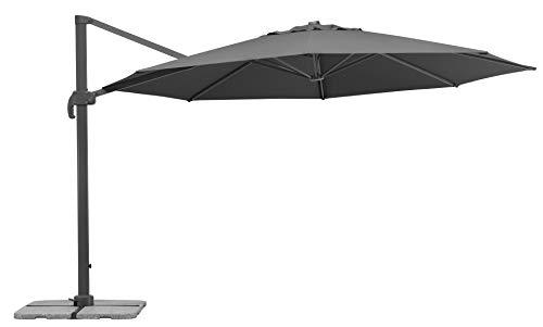 Schneider-Schirme Rhodos Grande Ampelschirm, anthrazit, ca. 400 cm Ø