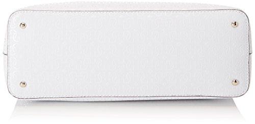 Guess Hobo, Borsa a Spalla Donna, 13x28x41.5 cm (W x H x L) Multicolore (White Multi)