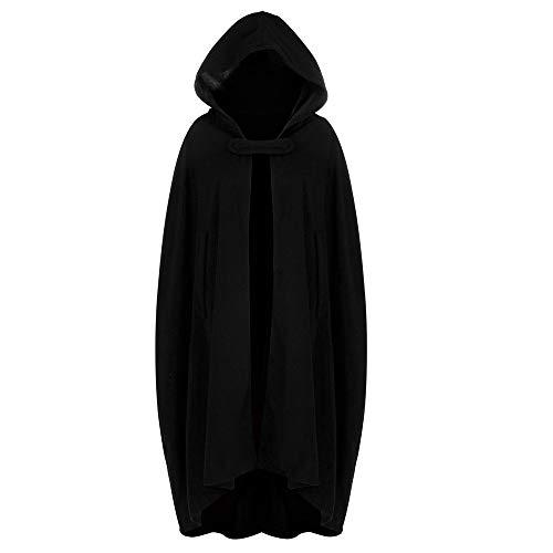 Gabardina para Mujer Chaqueta de Rebeca con Frente Abierto Chaqueta de Abrigo Capa de Capa Poncho Plus...