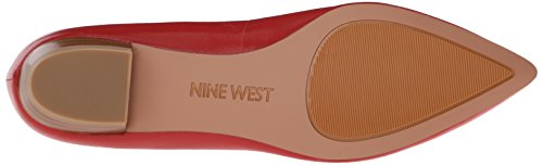 Nine West Ballet en cuir Timewarp plat red