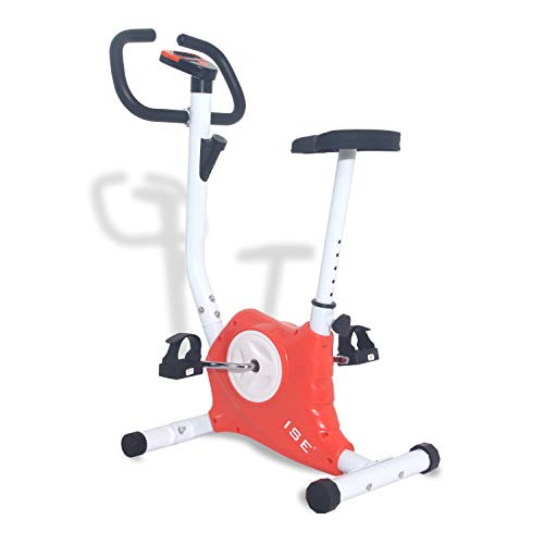 ISE Vélos d'appartement Fitness Cardio Training SY-8018 (Orange)