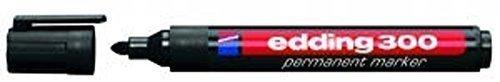 edding Permanent-Marker 300 schwarz (10 Stück)