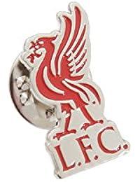Pin / Anstecker mit Fußballmanschafts-Wappen, offizieller Fußball-Fan-Artikel, verschiedene Mannschaften verfügbar In offizieller Verpackung, - Liverpool FC (Liverbird), Pin Badge