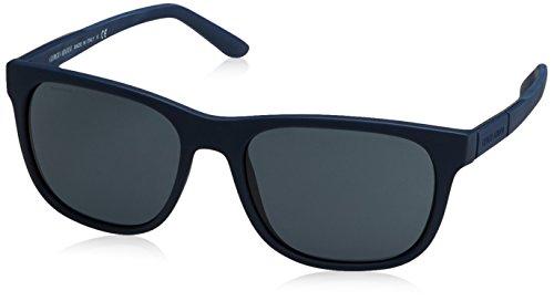 Giorgio Armani Herren AR8037 Sonnenbrille, Blau (Blue Rubber 506587), One size (Herstellergröße: 56)