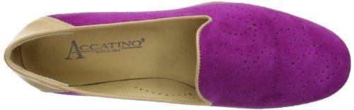 Pink Accatino Damen 43 Slipper fuchsia 840575 zwtxCtqPnT