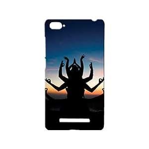 BLUEDIO Designer 3D Printed Back case cover for Xiaomi Mi4i / Xiaomi Mi 4i - G6131