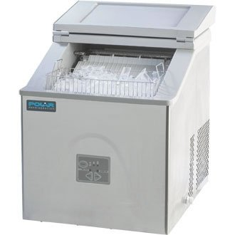 Polar Counter Top Ice Maker - Manual fill. 15kg output per 24 hours. by POLAR