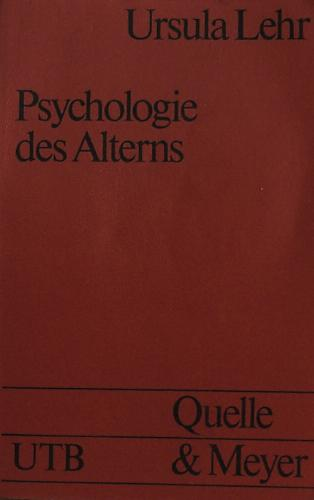 Psychologie des Alterns