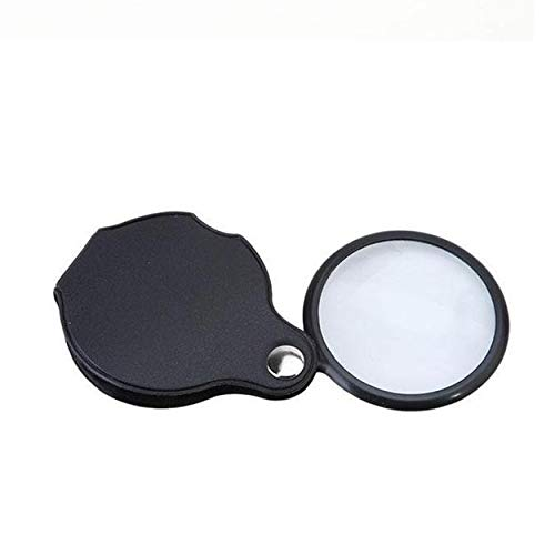 Mini Pocket 10x Folding Schmuck Lupe Lupe HD Optisches Glas Lesen Uhr Reparatur Brille Lupe