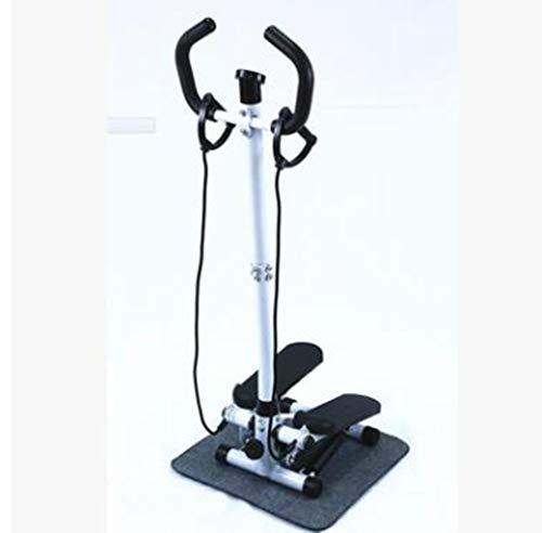 DDPP Hydraulische Handlauf Stepper Hause Stummschaltung, Mini-Multifunktions Abnehmen Fitnessgeräte Pedalmaschine Mit Lenker Und LCD-Display,3