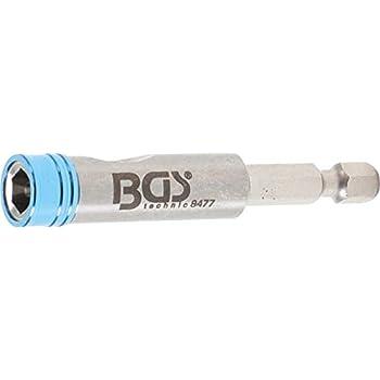 BGS Magnet Bithalter Schnellwechsler 1//4 Bits Bit Akkuschrauber Bohrmaschine