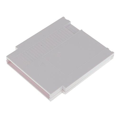 Preisvergleich Produktbild MagiDeal Ersatz Schwerer Fall passend Nintendo Entertainment System Kassette - Weiß