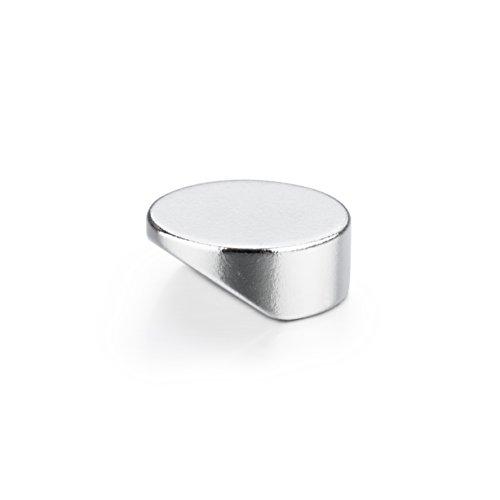 20 runde CLICK-Powermagnete | klein, edel, extrem stark und sehr leicht zu lösen | Neodym Magnete mit design-geschütztem Kippmechanismus - Eisen-box-board