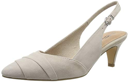 Tamaris Damen 1-1-29616-32 Slingback Ballerinas, Braun (Antelope 375), 38 EU
