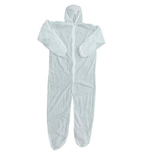 Ballylelly Protezione antinfortunistica Tuta monouso Tuta antipolvere Abbigliamento isolante Tuta da lavoro Non tessuti Un pezzo