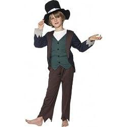 Disfraz de victoriano pobre Deluxe para niño - 4-6 años