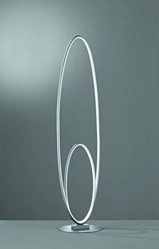 Design Stehleuchte Avus Trio grau