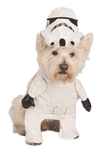 Rubies Costume Star Wars Walking Stormtrooper Pet Kostüm, Mittel (Stormtrooper Hund Kostüme)