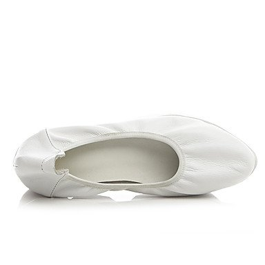 Confortevole ed elegante piatto scarpe donna Appartamenti Primavera Estate Autunno Inverno Altre Vacchetta Office & Carriera Abbigliamento Sportivo tacco piatto bianco nero Black