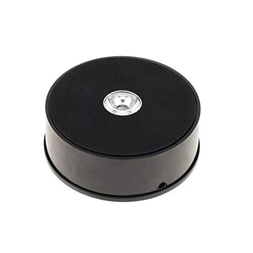 Cablematic - Base giratoria eléctrica 10 cm. Plataforma