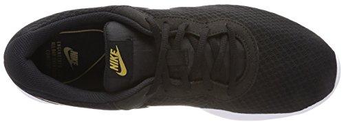Nike Wmns Tanjun, Chaussures De Gym Pour Femme Noir (noir / Or Métallique 004)