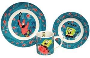 SpongeBob Kinderset (Unterwasser blau) ()