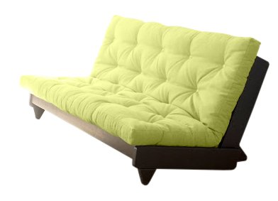 VivereZen - Divano Letto futon Fresh - Zen Wengè 140x200 +...