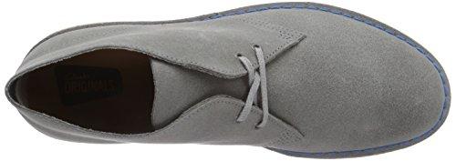 Clarks Originals Desert Boot, Herren Desert Boots Kurzschaft Stiefel & Stiefeletten,Grau (Wolf Suede) Grau (Greystone Suede)