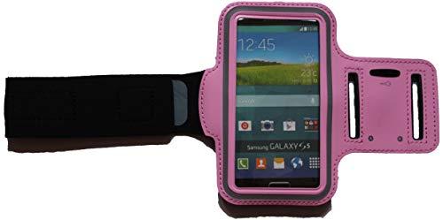 Sport Armband Schweißfest Schutztasche für Apple iPod Touch 4G Fitness Handyhülle Armtasche mit Kopfhöreranschluss, Laufen, Blank S Rosa Ipod 4g Armband