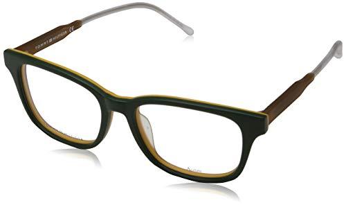 Tommy Hilfiger Unisex-Erwachsene 762753895387 Brillengestelle, Grün, 52