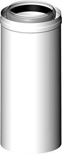 Almeva LAS Rohr starr 1000 mm PPH/PPH raumluftunabhängige Betriebsweise DN 60/100