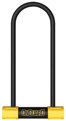 Onguard Bügelschloss Bulldog Mini LS Bügelschloss (schwarz, 3,55x 9.46-inch) -