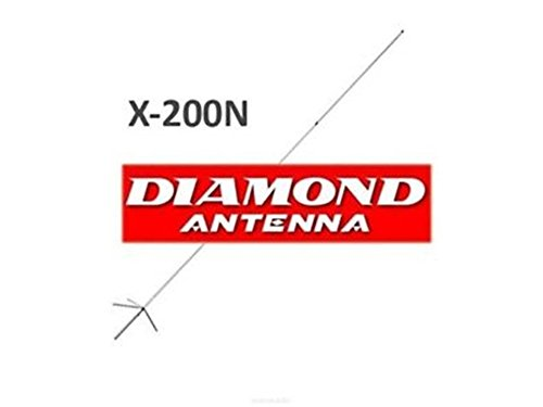 Diamond X-200 Antena bibanda Base 144-430 MHz Original