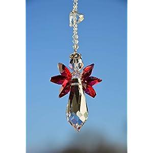 NEU! Schutzengel mit Herz - handgearbeitet aus Kristallen von Swarovski®