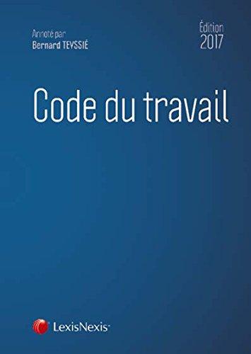 Code du travail 2017